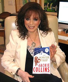 Jackie Collins English novelist (1937–2015)