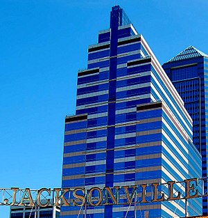 SunTrust Tower - Image: Jacksonville Center 2010 07 a