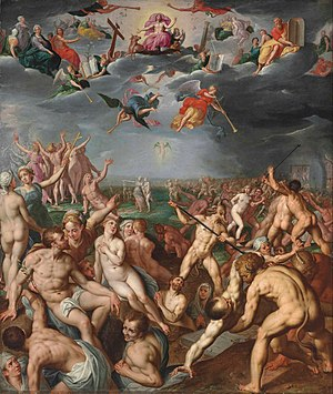 Jacob de Backer - Last Judgment, c. 1583