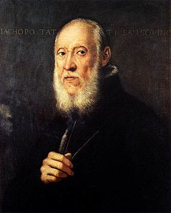Jacopo Tintoretto - Portrait of Jacopo Sansovino - WGA22689.jpg