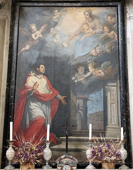 File:Jacopo chimenti (l'empoli) o matteo rosselli, san carlo borromeo 01.JPG