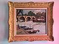 Jacques BOUYSSOU, French artist. Paintings. Vue du Pont Marie PARIS.jpg