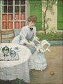 Jacques Wely Mutter mit ballspielendem Mädchen 1906.jpg