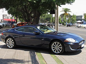 Jaguar XK (X150) - 2009 Facelift Jaguar XK coupe (Chile)