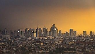 West Jakarta - West Jakarta at sunset