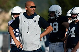 James Franklin (American football coach) American football coach and former player