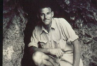 James Kitching South African paleontologist