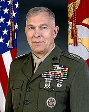 Gen James T. Conway, 34th Commandant of the Marine Corps
