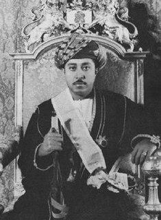 Jamshid bin Abdullah of Zanzibar Sultan of Zanzibar