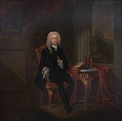 Postuum geschilderd portret van Willem Schepers