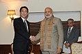 Japanese Foreign Minister Fumio Kishida meets PM Modi.jpg