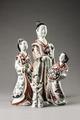 Japanska geishor i porslin för export, 1700-tal - Hallwylska museet - 107708.tif