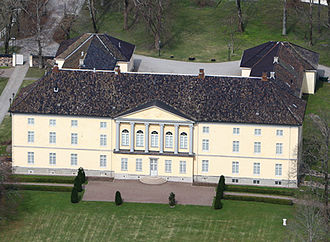 Jarlsberg - Jarlsberg manor.