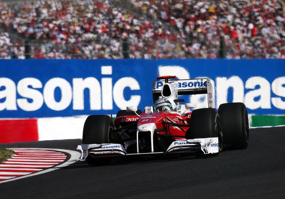 Jarno Trulli 2009 Japan
