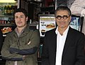 Jason Biggs, Eugene Levy (6811667780).jpg