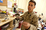 Java Joe, MedLog Sailor serves up gourmet coffee to fellow troops 111117-M-KV513-018.jpg