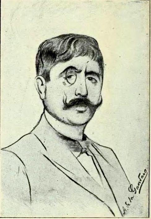 Jean Moréas par Antonio de La Gandara