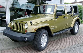 Jeep Wrangler - Jeep Wrangler Unlimited Sahara (JK, Germany)