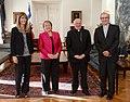 Jefa de Estado recibió al Cardenal Ricardo Ezzati, quien presentó al nuevo Capellán del Palacio de La Moneda, Padre Fernando Vives, SS.CC (15744595487).jpg