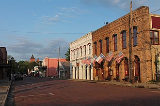 Jefferson, Texas - Downtown Jefferson, Texas