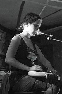 Jenny Omnichord Canadian musician