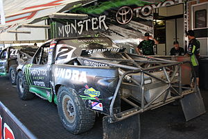 Jeremy McGrath - McGrath's 2009 Short Course Offroad Truck