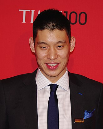 Jeremy Lin - Lin at the 2012 Time 100 Gala
