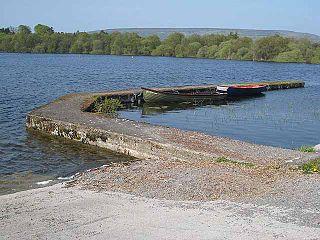 Lough Arrow lake in Ireland