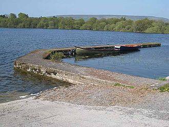 Lough Arrow - Toward the Bricklieve Mountains