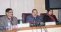 Jitendra Singh addressing a Press Conference on Good Governance initiatives in New Delhi. The Secretary, DoPT, Shri Sanjay Kothari is also seen.jpg