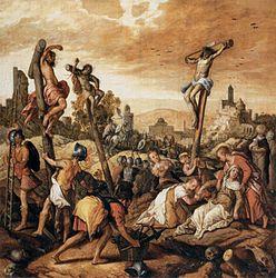 Joachim Beuckelaer: The Crucifixion