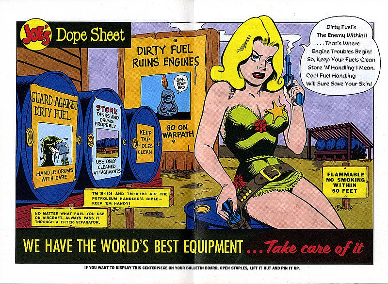File:Joe's Dope Sheet (Issue 185 1968 page032 page033) (16810215126).jpg