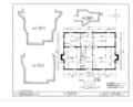 Joel Lane House, 728 Hargatt Street, Raleigh, Wake County, NC HABS NC,92-RAL,2- (sheet 1 of 6).png