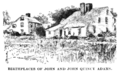 John Adams Birthplace B & W (Biographical Dictionary of America, vol. 1).png