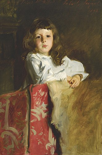 Francis Davis Millet - John Alfred Parsons Millet, John Singer Sargent, 1892, Frank Millet's youngest son named after two of his close friends: John Singer Sargent and Alfred Parsons.