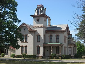 National Register of Historic Places listings in LaGrange County, Indiana - Image: John Badlam Howe Mansion