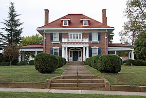 National Register of Historic Places listings in Bedford County, Virginia - Image: John D Ballard House