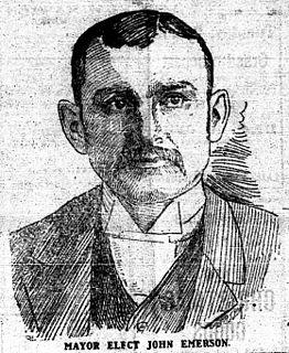John Emerson (mayor) Canadian mayor