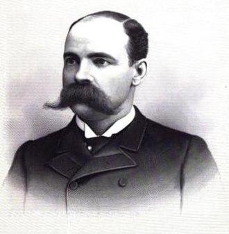 John McGraw (governor) - McGraw circa 1890