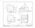 John Neilson House, Bemis Heights, Stillwater, Saratoga County, NY HABS NY,46-BEMHI,1A- (sheet 2 of 3).png