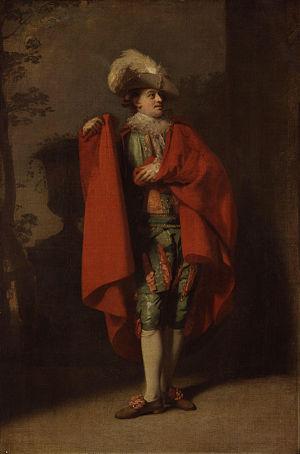 John Palmer (actor) - John Palmer as Count Almaviva in The Spanish Barber, portrait by Henry Walton, 1779