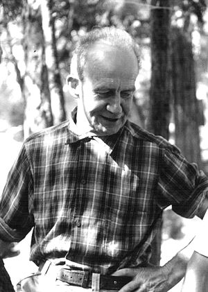 John Salathé - John Salathé at Camp 4 in Yosemite Valley in 1964.