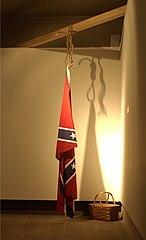 The Proper Way to Hang a Confederate Flag
