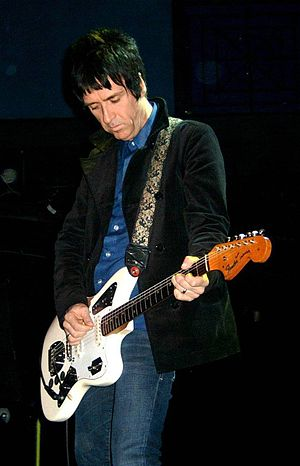 Fender Jaguar - Johnny Marr with The Cribs using his signature Jaguar
