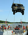 Joint-service seaport ops integrate different branches, methods of transportation 130804-A-TD020-209.jpg