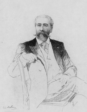 José-Maria de Heredia - José-Maria de Heredia as drawn by Adolphe Lalauze