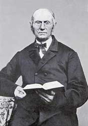 Vegetarianism and religion - Joseph Bates, vegetarian and one of the founders of the Seventh-day Adventist Church.