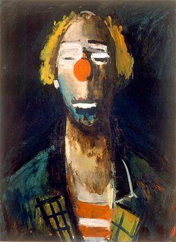 Joseph Kutter Tête de Clown