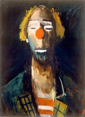 Joseph Kutter - Head of a Clown, c. 1937