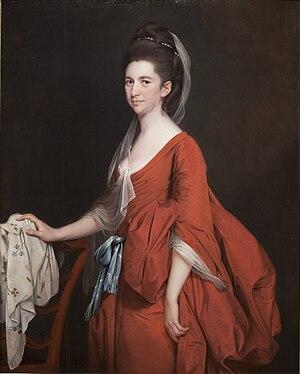 Henry Gladwin - Image: Joseph Wright of Derby Portrait of Dorothy Beridge (1777)